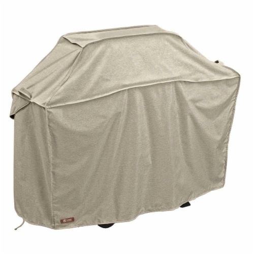 Classic Accessories 55-662-056701-RT Montlake X-Large Bbq Grill Cover, Grey - 70 in. Perspective: front