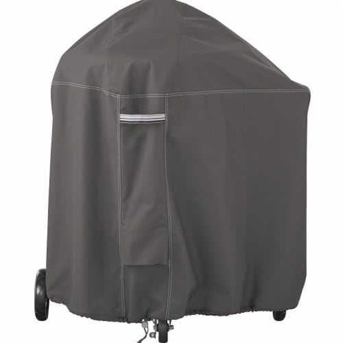 Classic Accessories 55-788-015101-EC Ravenna Weber Summit Grill Cover, Taupe Perspective: front