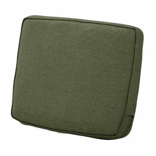 Classic Accessories 62-024-HFERN-EC Montlake FadeSafe Patio Lounge Back Cushion, Heather Fern Perspective: front