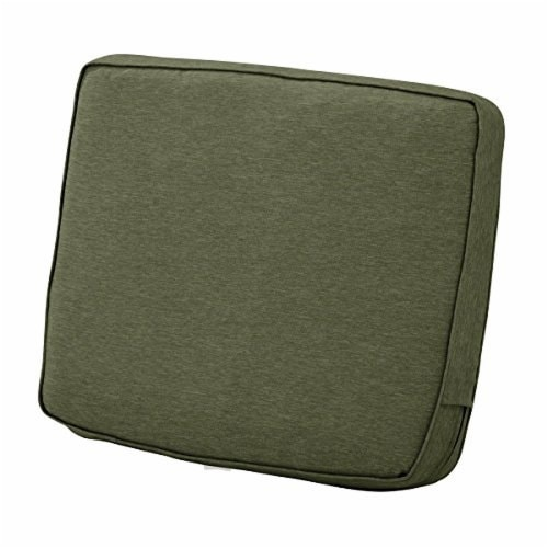 Classic Accessories 62-026-HFERN-EC Montlake FadeSafe Patio Lounge Back Cushion, Heather Fern Perspective: front
