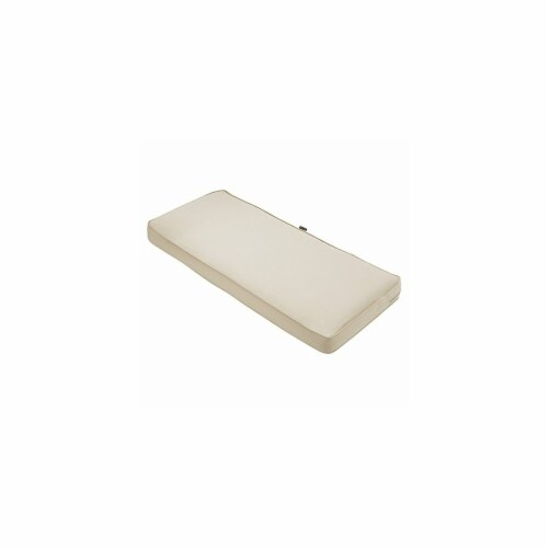 Classic Accessories 62-044-BEIGE-EC 3 x 54 x 18 in. Seat Cushion Combo - Beige Perspective: front