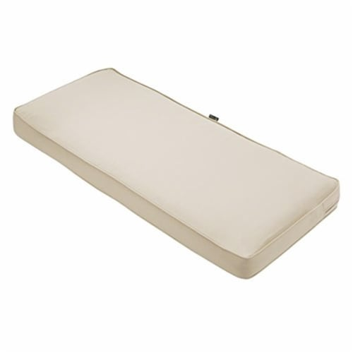 Classic Accessories 62-045-BEIGE-EC 3 x 59 x 18 in. Seat Cushion Combo - Beige Perspective: front