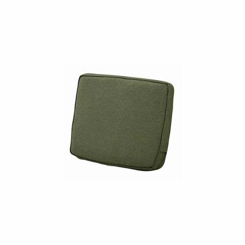 Classic Accessories 62-047-HFERN-EC 4 x 19 x 20 in. Back Cushion Combo - Fern Perspective: front