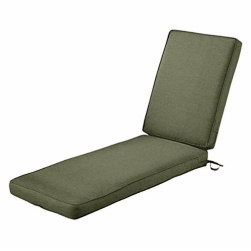 Classic Accessories 62-029-HFERN-EC 3 x 80 x 26 in. Seat Cushion Combo - Fern Perspective: front
