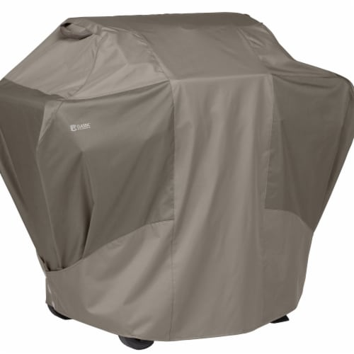 Classic Accessories 56-283-056601-EC Extra Large Porterhouse BBQ Grill Cover - Limestone & Co Perspective: front