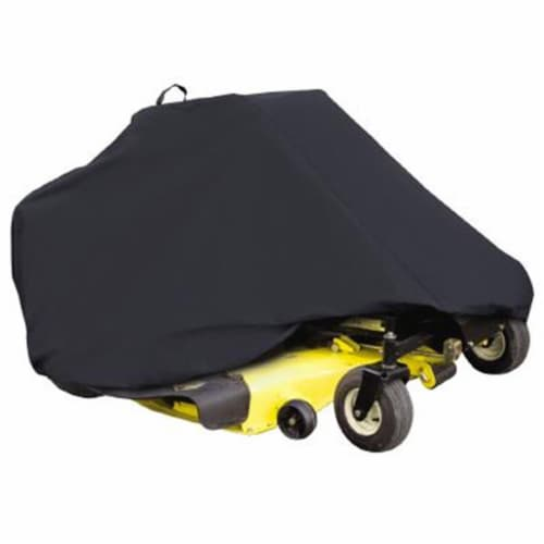 Classic Accessories 73997 Zero Turn Mower Cover in Black Perspective: front
