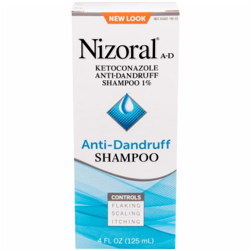 Nizoral A-D Anti-Dandruff Shampoo Perspective: front