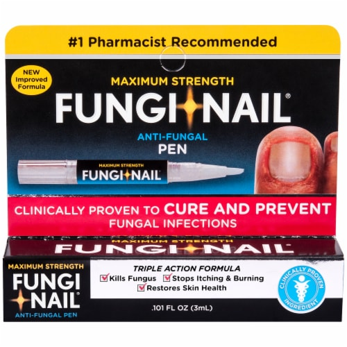 Fungi-Nail Maximum Strength Anti-Fungal Pen Perspective: front