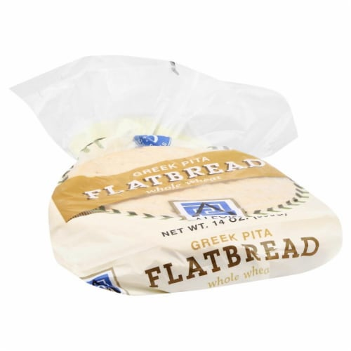 Alexis Whole Wheat Greek Pita Flatbread 5 Count Perspective: front