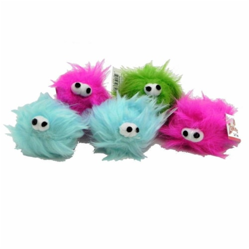 Zanies Critters Cat Toy 5 Pack Perspective: front