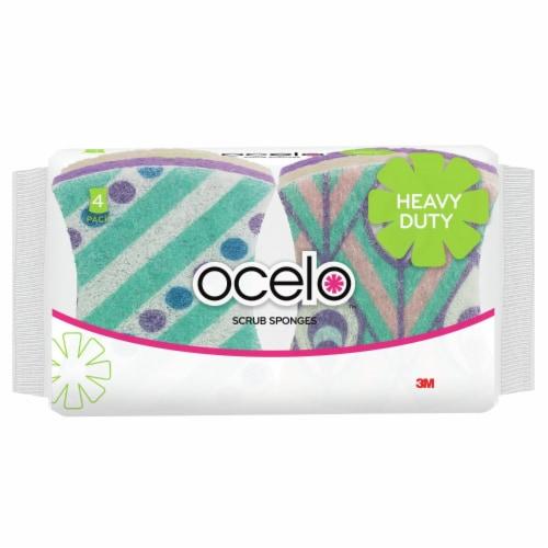 ocelo™ Heavy Duty Scrub Sponge Perspective: front