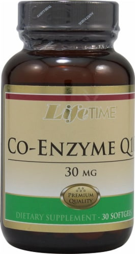 Lifetime  Co-Enzyme Q10 Perspective: front