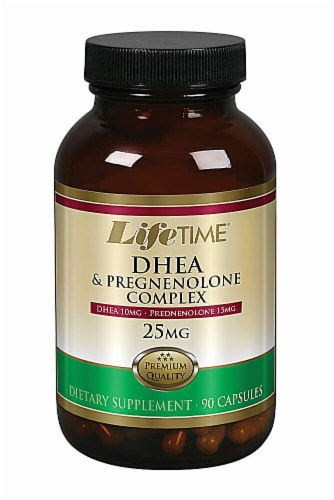 Lifetime  DHEA and Pregnenolone Complex Perspective: front