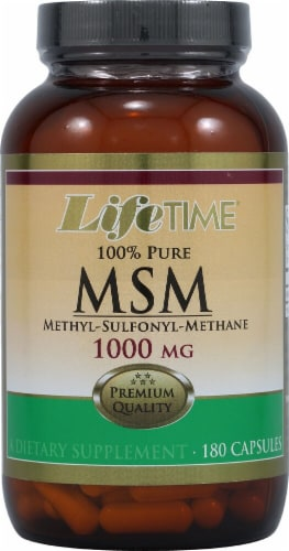 Lifetime  100% Pure MSM Perspective: front