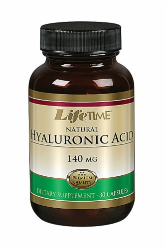 Lifetime  Natural Hyaluronic Acid Perspective: front