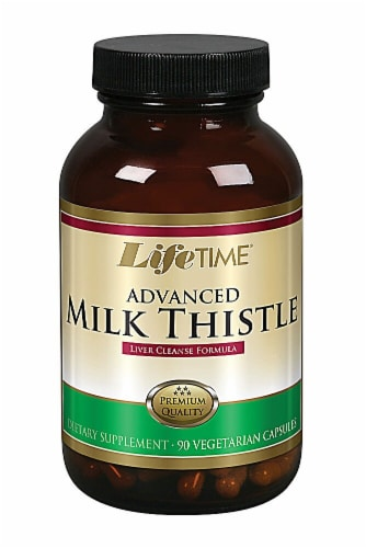 Lifetime  Advanced Milk Thistle Perspective: front
