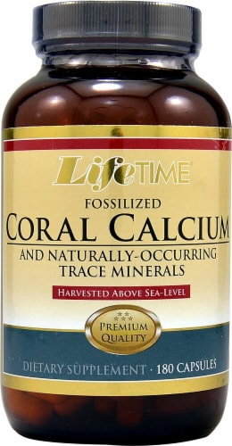 Lifetime  Fossilized Coral Calcium Perspective: front