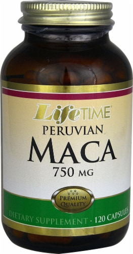 Lifetime  Peruvian Maca Perspective: front