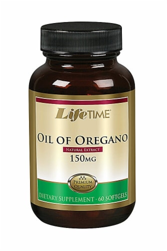 Lifetime  Oil of Oregano Extract Perspective: front