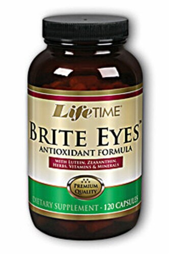 Lifetime Brite Eyes Antioxidant Formula Capsules 120 Count Perspective: front