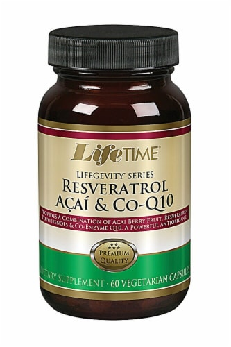 Lifetime  Lifegevity™ Series Resveratrol Acai and Co-Q10 Perspective: front