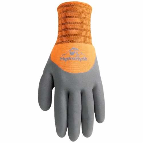 Wells Lamont HydraHyde Men's XL Winter Lined Latex Glove 555XL Perspective: front