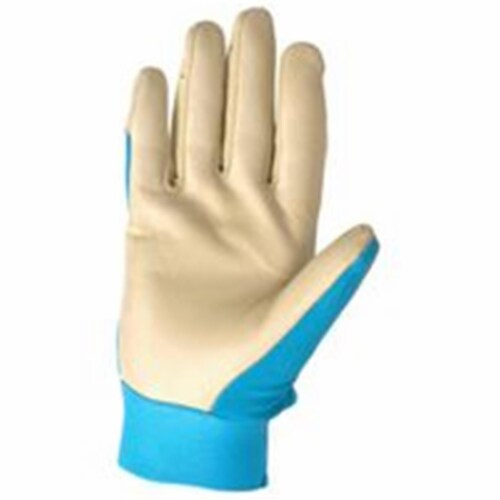 Wells Lamont HydraHyde Women's Large Cowhide Leather Adjustable Wrist Work Glove Perspective: front