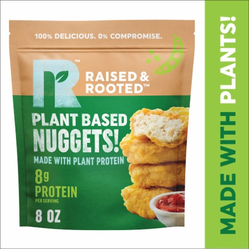 Raised & Rooted™ Nuggets Made with Plants Perspective: front