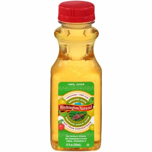Washington Natural Apple Juice Perspective: front