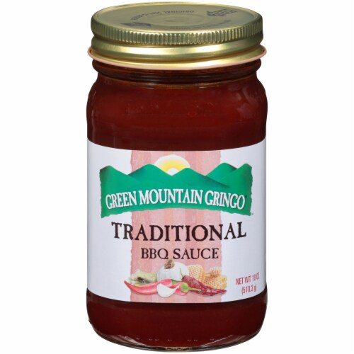 Green Mountain Gringo Traditional BBQ Sauce Perspective: front