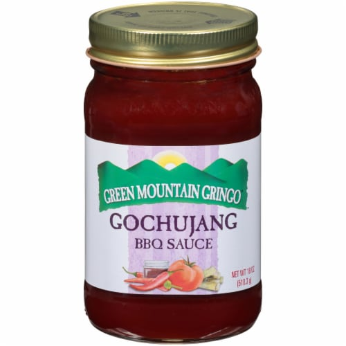 Green Mountain Gringo Gochujang BBQ Sauce Perspective: front