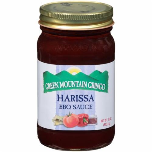 Green Mountain Gringo Harissa BBQ Sauce Perspective: front