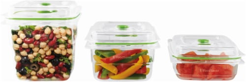 FoodSaver® Vacuum Food Containers - Clear Perspective: front