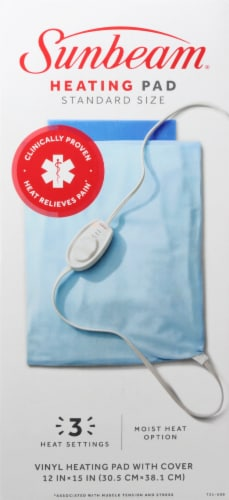 Sunbeam® Heating Pad Perspective: front