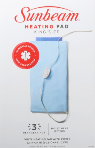Sunbeam® King Sized Heating Pad Perspective: front