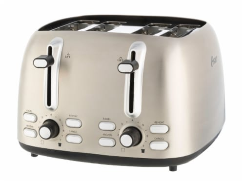 Oster® Jelly Bean 4-Slice Toaster Perspective: front