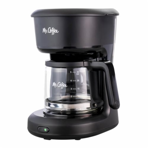 Mr Coffee® 5-Cup Switch Coffee Maker - Black Perspective: front