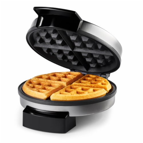 Oster® Waffle Maker - Silver/Black Perspective: front