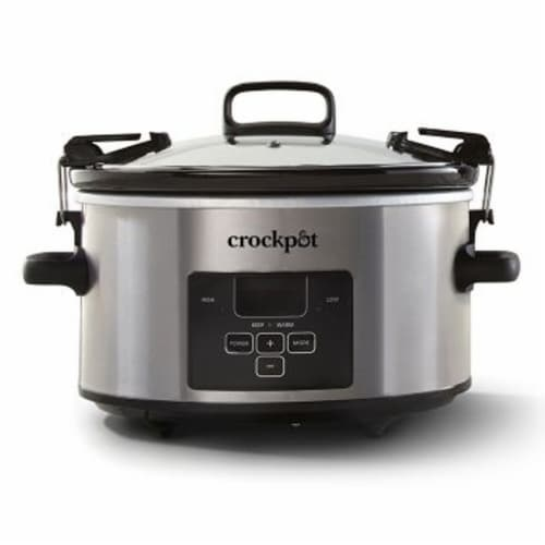 Crock-Pot® Cook & Carry Programmable Slow Cooker Perspective: front