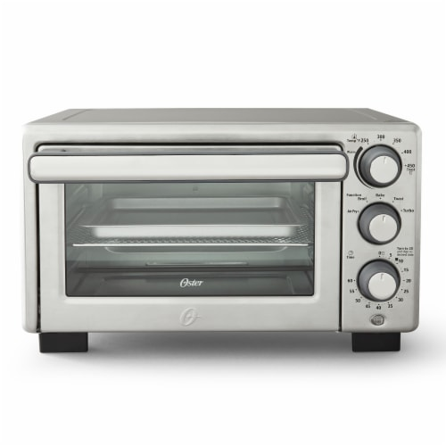 Oster® Compact Toaster Oven with Air Fryer Perspective: front