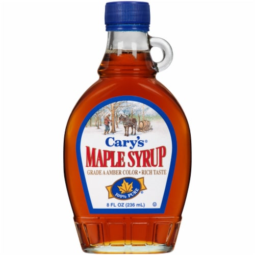 Cary's Pure Maple Syrup Perspective: front