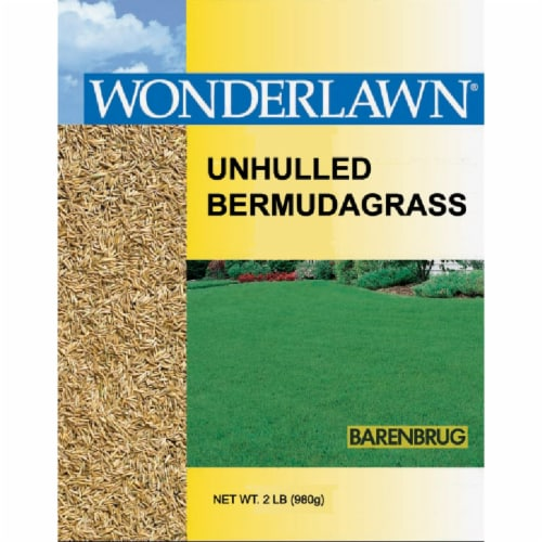 Wonderlawn 2 Lb. 400 Sq. Ft. Coverage 100% Unhulled Bermudagrass Grass Seed Perspective: front