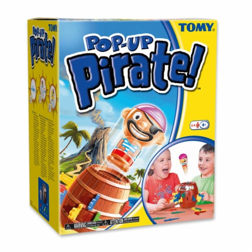 TOMY Pop Up Pirate Game Perspective: front