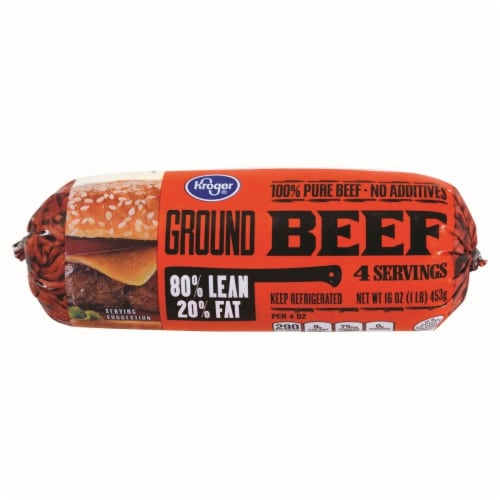 Ground Beef 80/20 Perspective: front