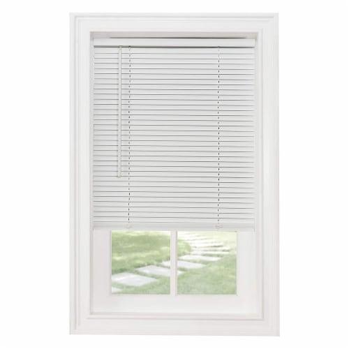 Achim GII Morningstar 46 x 64 Inch Cordless Vinyl Window Light Filtering Blinds Perspective: front