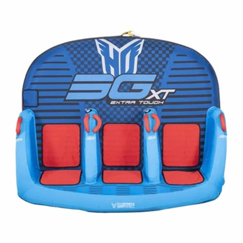 HO Sports 2020 3G XT Towable Watersports Boating Tube, 1 to 3 Person Capacity Perspective: front