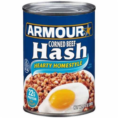 Armour Corned Beef Hash Perspective: front