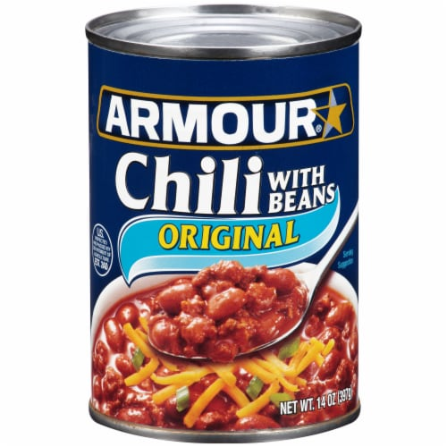 Armour Chili with Beans Perspective: front