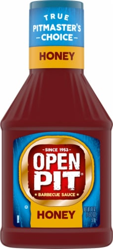 Open Pit Honey Barbecue Sauce Perspective: front