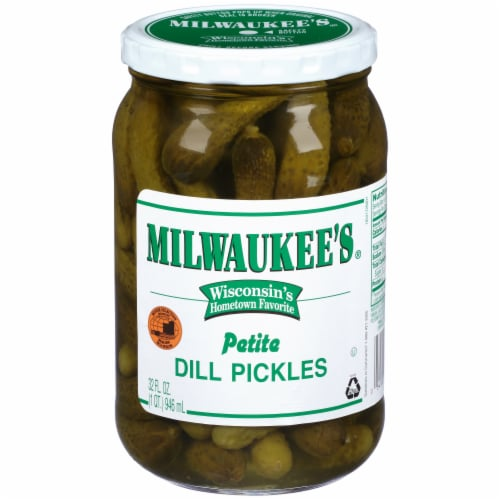 Milwaukee's Whole Petite Dill Pickles Perspective: front